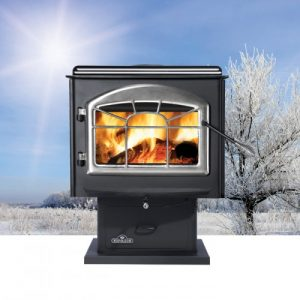 1100 – Pedestal Wood Burning Stove