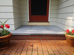 Outdoor Steps Repair