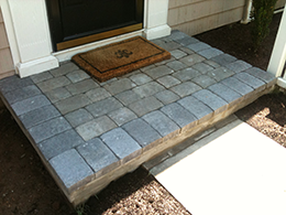 Repaired Outside Steps