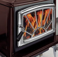The Spectrum Classic With Legs Wood Stove