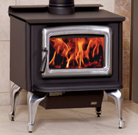 The Vista (With Legs) Wood Stove