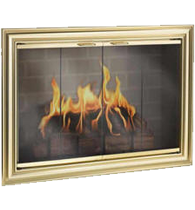 Bedford Fireplace Glass Doors