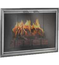 The Apex Fireplace Glass Doors