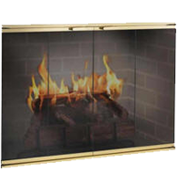 Elite Fireplace Glass Doors