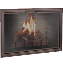 The Madison Fireplace Glass Doors