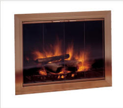 Savannah Fireplace Glass Doors