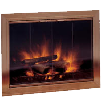 The Savanah Fireplace Glass Doors