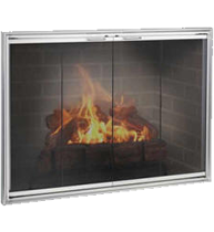 The Shadow Fireplace Glass Doors