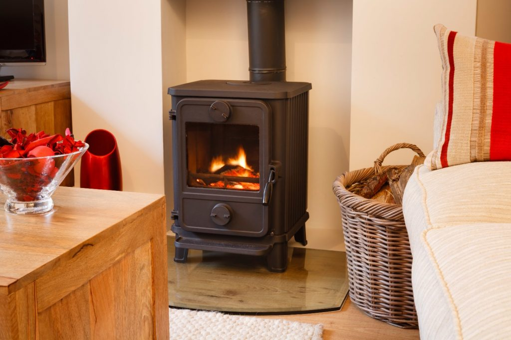 fraser free standing stove
