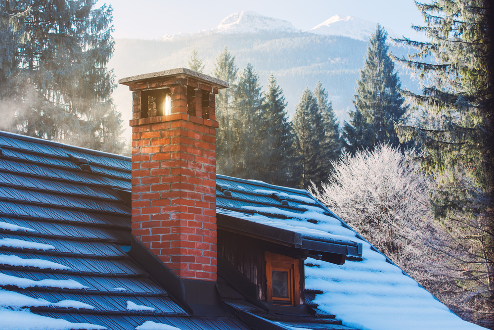 remedying chimney fireplace drafts