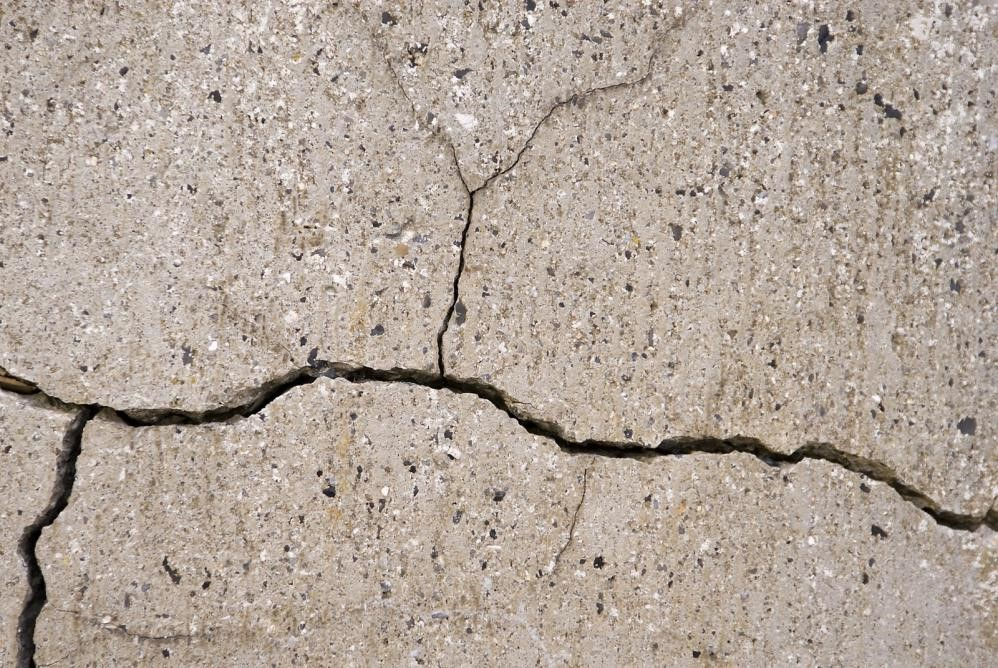 damaged concrete repair